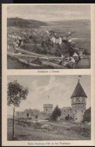 Mühlheim. a. Donau. Ruine Honburg bei Tuttlingen
