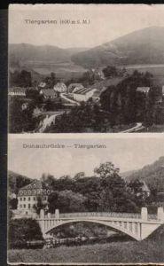 Tiergarten. Donaubrücke