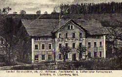 Hohlstein. Kr. Löwenberg. Gasthof Hohenzollern