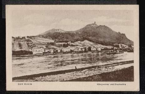 Der Rhein. Königswinter und Drachenfels