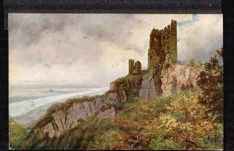 Am Rhein. Der Drachenfels mit Blick auf Königswinter