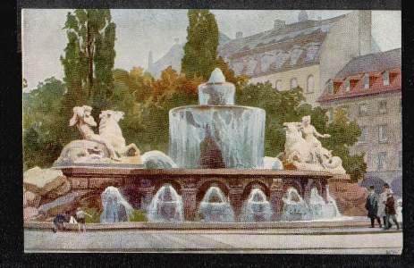 München. Wittelsbacher Brunnen.