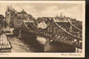 Bremen. Grosse Weserbrücke
