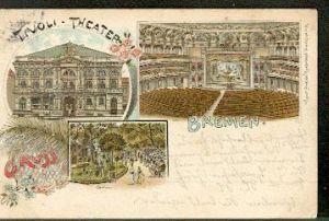 Bremen, Tivoli Theater, Garten