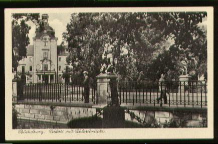 Bückeburg. Schloss mit Schlossbrücke