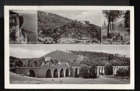 Paschenburg im Wesergebirge. Der Hohenstein (Süntel).