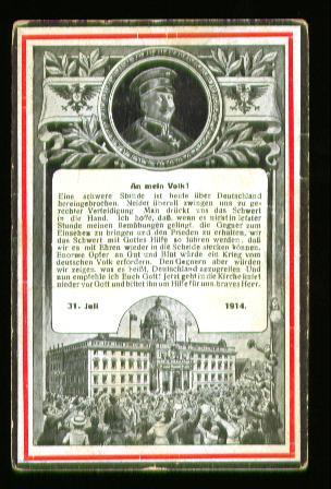 Berlin. Kriegs Postkarte