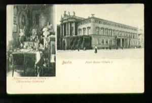 Berlin. Palais Kaiser Wilhelm I. Arbeitszimmer Kaiser Wilhelm I