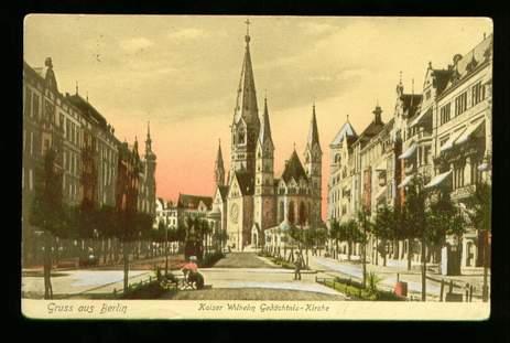 Berlin. Kaiser Wilhelm Gedächtnis Kirche