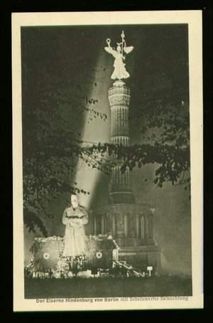 Berlin. Der Eiserne Hindenburg von Berlin