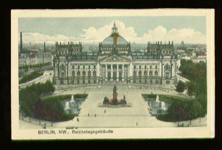 Berlin. NW., Reichstagsgebäude