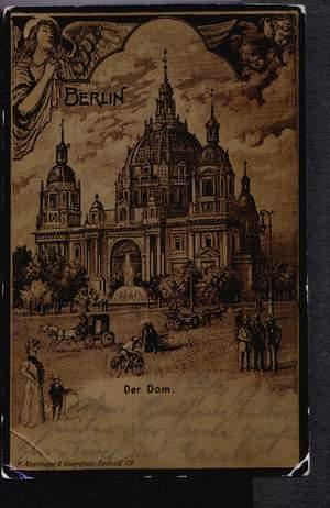 Berlin. Gruss aus. Der Dom.