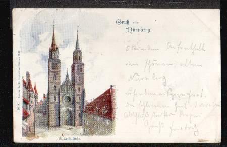 Nürnberg. St. Lorenzkirche