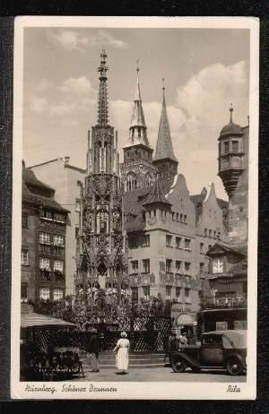 Nürnberg. Schöner Brunnen