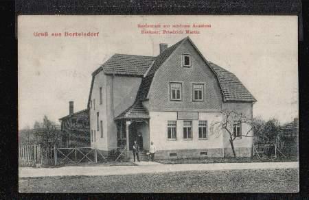 Bertelsdorf. Restaurant zur schönen Aussicht