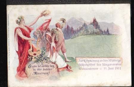Weissenbrunn. Zur Erinnerung an das 50jährige