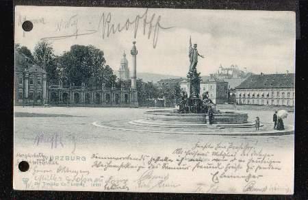 Würzburg. Residenzplatz