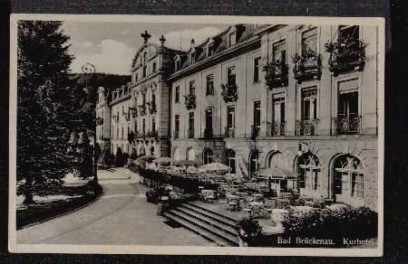 Bad Brückenau. Kurhotel