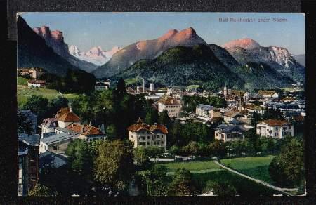 Bad Reichenhall. gegen Süden