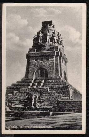 Leipzig. Völkerschlachtdenkmal