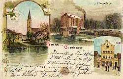Gummbinen Gruss aus. Hauptsache, A. Prangs Mühle