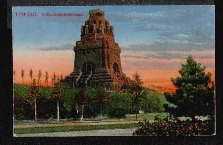 Völkerschlachtdenkmal. Leipzig