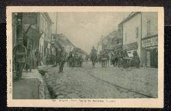 Kowno. Beim Einzug der deutschen Truppen