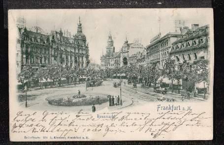 Frankfurt. Rossmarkt