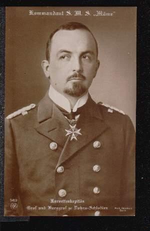 Kommandant SMS Möwe. Graf zu Dohna Schlodien