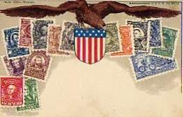 0 Briefmarken. USA.