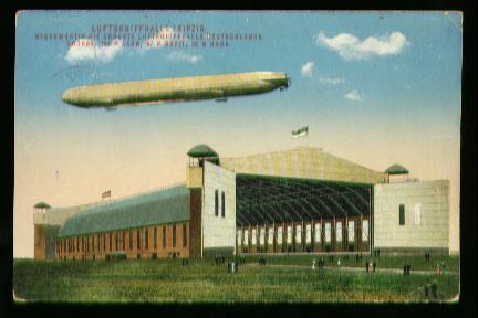 x00195; Luftschiffhalle in Leipzig.
