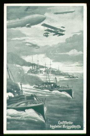 x00294; Luftflotte begleitet Kriegsschiffe.