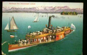 x00311; Starnberger See : Salondampfer Luitpold.