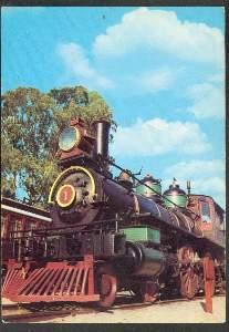 x00374; Lokomotive der Western Pacific Eisenbahn 1864.