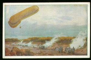 x00435; Fesselballon, Deutscher Luftflotten Verein.