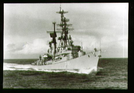 x00592; Unsere Flotte Zerstörer Lütjens.