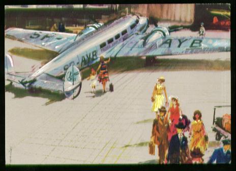 x00903; Polskie Linie Lotnicze LOT Polish Airlines.