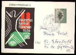 x00988; München. Deutsches Turnfest. 1958.