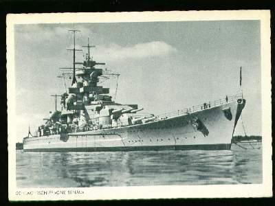 x01044; Schlachtschiff Gneisenau.