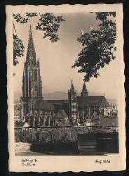 x01610; Freiburg i. Br. Das Münster. Adolf Muller.