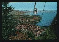 x01954; Bregenz am Bodensee mit Pfanderbahn.