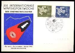 x01971; Garmisch Partenkirchen 1962. XII. Internationale Wintersportwoche.