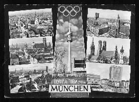 x02236; München. Olympiaturm.