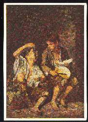 x03025; Bartolome Esteban Murillo. Trauben und Melonenesser.
