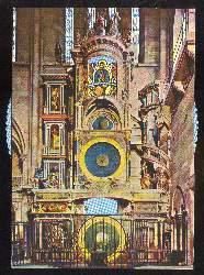 x03234; Horloge Astronomique. Mechanische Ansichtskarte.