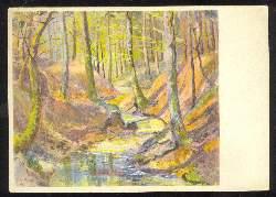 x03367; H.R. Meyer. Zollikon. Morgensonne im Frühling.