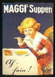 x03592; Maggi Suppen.Reprint.
