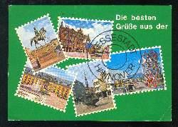 x03638; Hannover Messestadt. Die besten Grüsse aus.