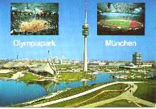 x04621; Olympiapark mit Olympiaturm, 290 m München.
