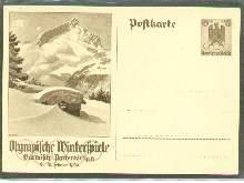 x04641; Olympische Winterspiele 1936. GA.